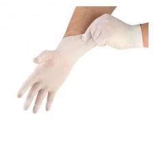 Latex handschoen gepoederd